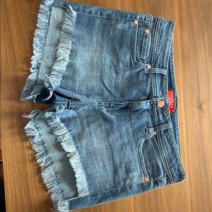 Guess Frayed Shorts